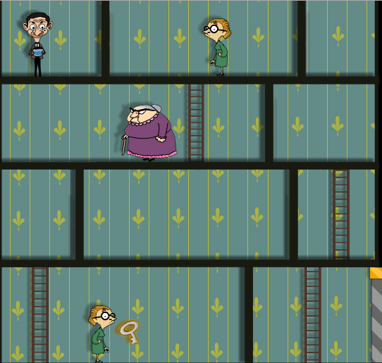 Mr Bean And The Goldfish Game