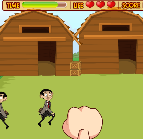 Mr Bean Summer Farm Game