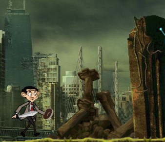 Mr Bean Warrior Game