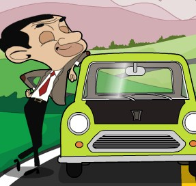 Mr Bean's Car Drive Game