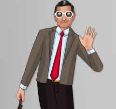 Mr Bean Rowen Atkinson Dress up Game